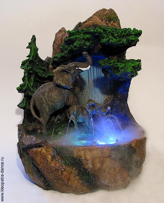 Фонтан настольный водопад своими руками