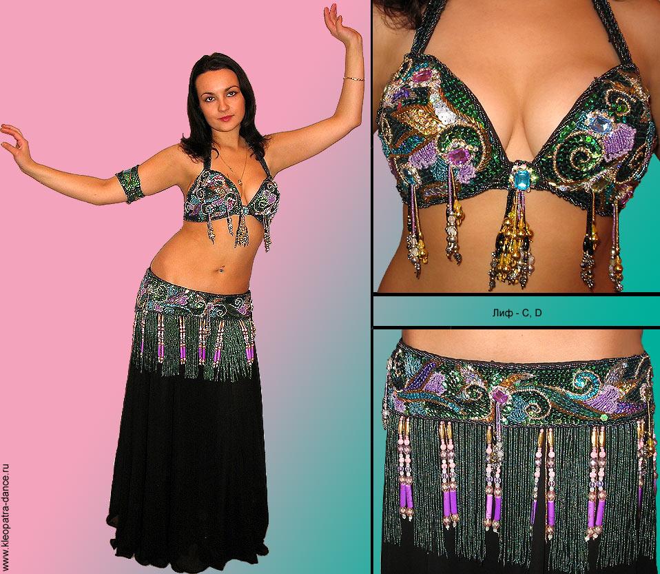 Восточный костюм для танца живота своими руками