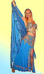 Восточный костюм для танца живота