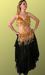 Египтеский костюм для танцев